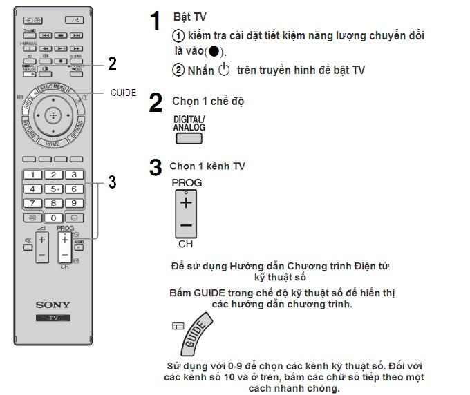 Hướng dẫn cách mở mã service cho tivi Sony